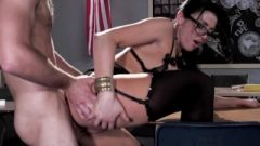 Hungry College Prof Audrey Bitoni Steals Her Student From His GF