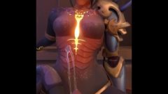 Overwatch: Leaving A Titillating Mess On Dragon Symmetra – POV