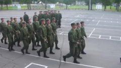 Russian Army Sings Barbie slut