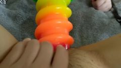 TINY japanese young Vs HUGE Screw You Dildo! – Bit.ly/minjibvby