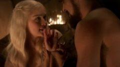 Emilia Clarke authentic Sex Scene – Game Of Thrones