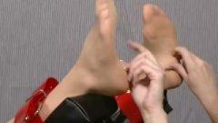 Vixen Rad K Sensual Nylon Tickled