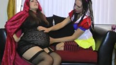 Enormous Belly Petite Hood With Snowhite