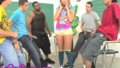 Lexi Belle And Chastity Lynn Get Young Glazed