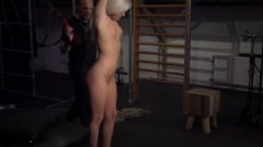 Exciting Moaning From Slave Fixed And Vibed In Unbelievable Bondage Rope Art