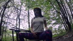 Self Gratification In A Quiet Forest