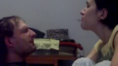 Face Spanking & Spitting & Foot Smelling